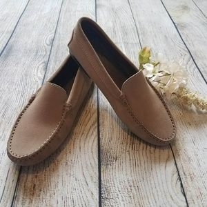 Tod's Tan Suede Driving Loafer Women''s 7 J